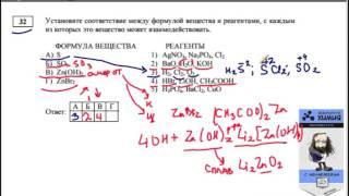 видеоурок  Менделеева по заданию 32 ЕГЭ ХИМИЯ