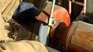 Sharpening Bandsaw Blade
