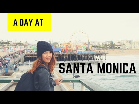 A Day At Santa Monica, Los Angeles | First time in USA!
