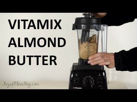 How to make raw almond butter in vitamix