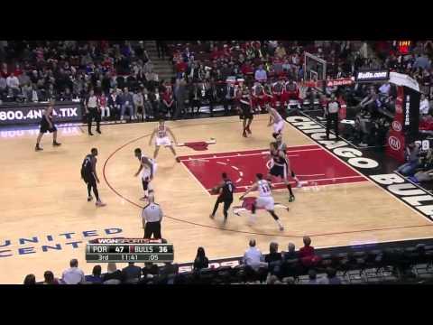 Portland Trail Blazers vs Chicago Bulls | March 28, 2014 | NBA 2013-14 Season