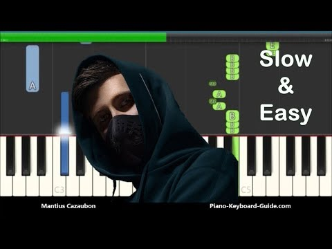 how-to-play-on-my-way-by-alan-walker-on-piano---ft-sabrina-carpenter-&-farruko