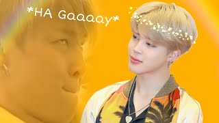 Gambar cover Jimin being an Confident Gay [love it]