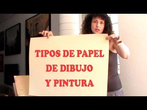 TIPOS DE PAPEL PARA DIBUJO Y PINTURA