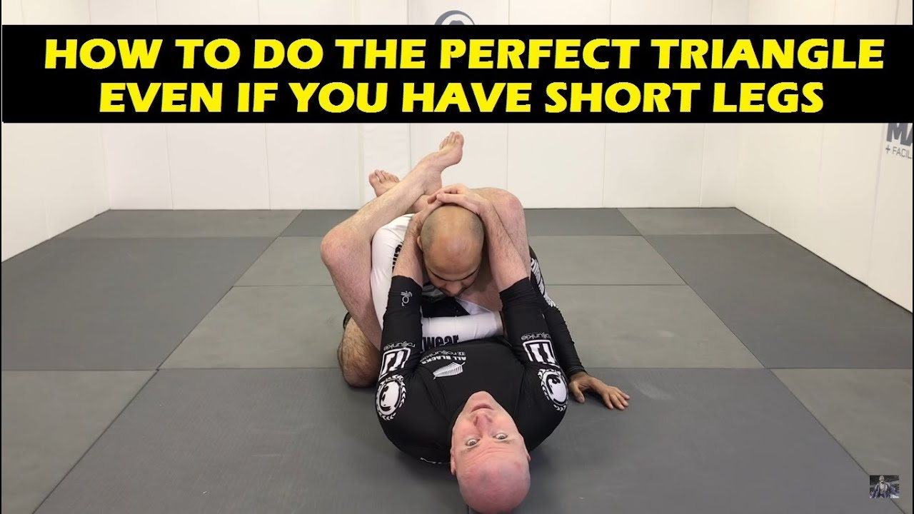 How To Do The Perfect Triangle Choke Even If You Have Short Legs by John  Danaher