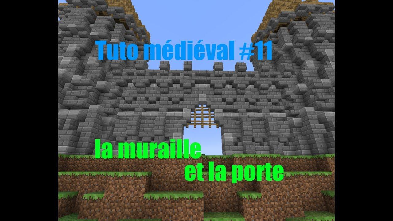 Minecraft construire un village m di val de a z 11 for Porte and minecraft