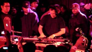 DJ Z-Trip Pt. 1 - Roc Raida Tribute Party @ BB King Blues NYC 10-23-2009