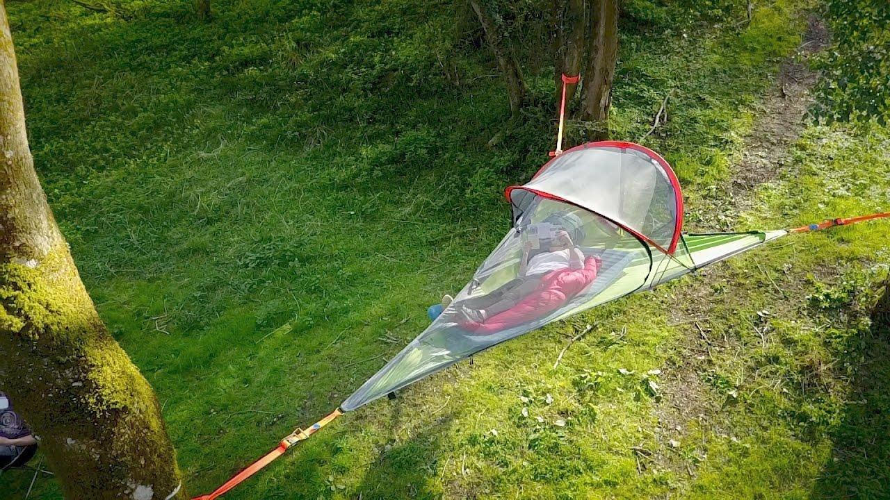 Tentsile Tree Tents u0026 Amok hammock - C& in the trees & Tentsile Tree Tents u0026 Amok hammock - Camp in the trees - YouTube