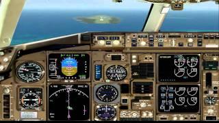 fs2004 boeing 767 300 landing male vrmm