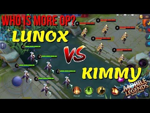 LUNOX vs KIMMY, OP vs OP, But Who is Stronger? Mobile Legends Mirror Mode