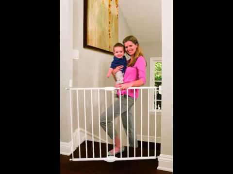 How To Install Munchkin Baby Gate Youtube