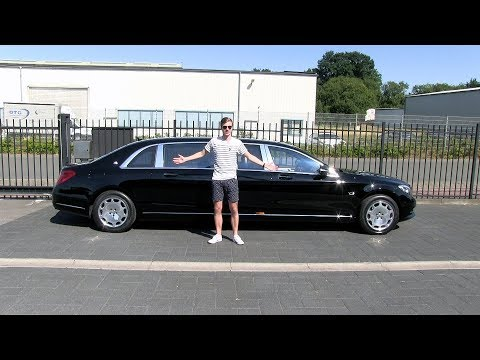 The Mercedes-Maybach Pullman S600 is an insanely luxurious 6-seater!