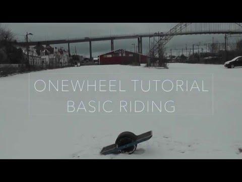 Onewheel Basic Riding Tips