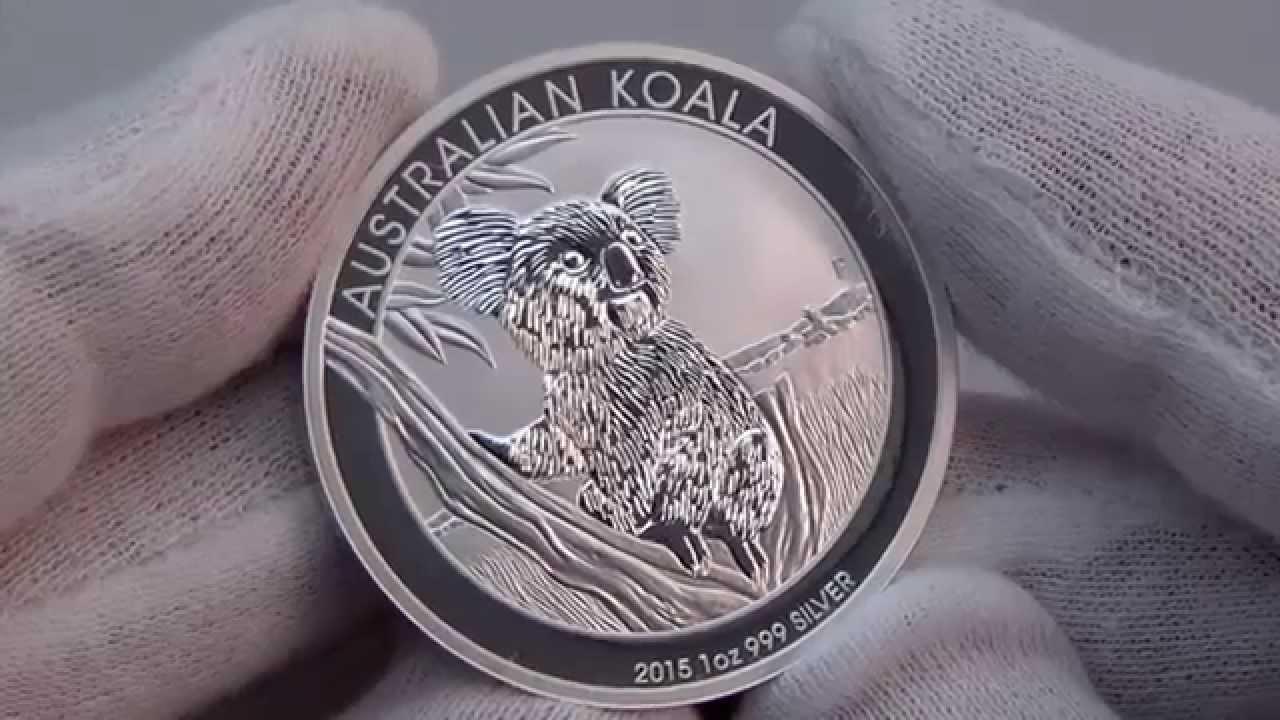 2015 Australian Koala Silver Bullion Coin Youtube