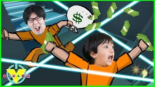 VTuber Ryan Vs Daddy ESCAPE ASAP Let es Play Roblox Jail Break
