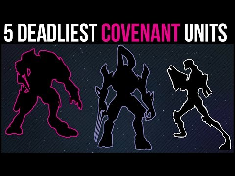 5 Deadliest Elite Covenant Military Units | Halo Lore Explained
