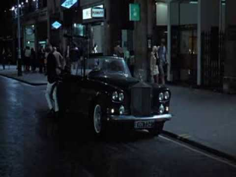 Rolls Royce Silver Cloud III and London driving scenes in Blow Up (1966)