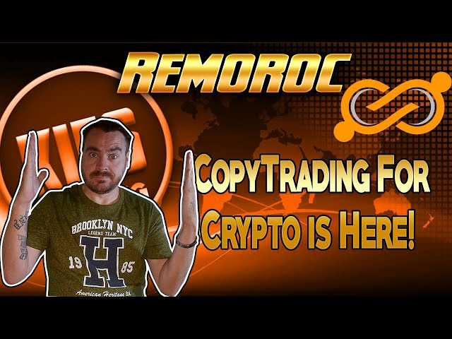 Remoroc - The Copytrading Platform For Cryptocurrency!