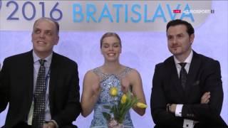 Фигурное катание. Чемпионат Европы 2016. Женщины. Произвольная программа.(, 2016-01-31T20:30:10.000Z)