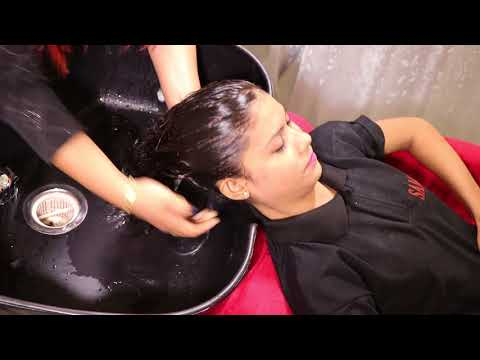 How To Do Salon Hair Wash Step by Step By Sam Ma'am