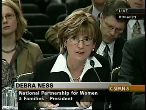 National Partnership President Debra Ness at the Health Care Roundtable