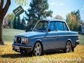 Looking at a 1984 Volvo 244 DL in Mist Blue