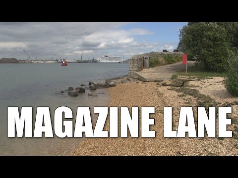 Magazine Lane - Deep Water Shore Fishing Mark Near Southampton, Hampshire, England