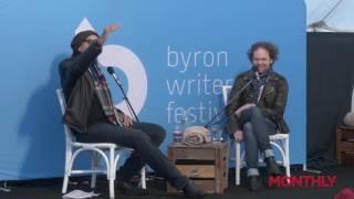 Charles Waterstreet: Live profile with Erik Jensen (Byron Writers Festival 2016)