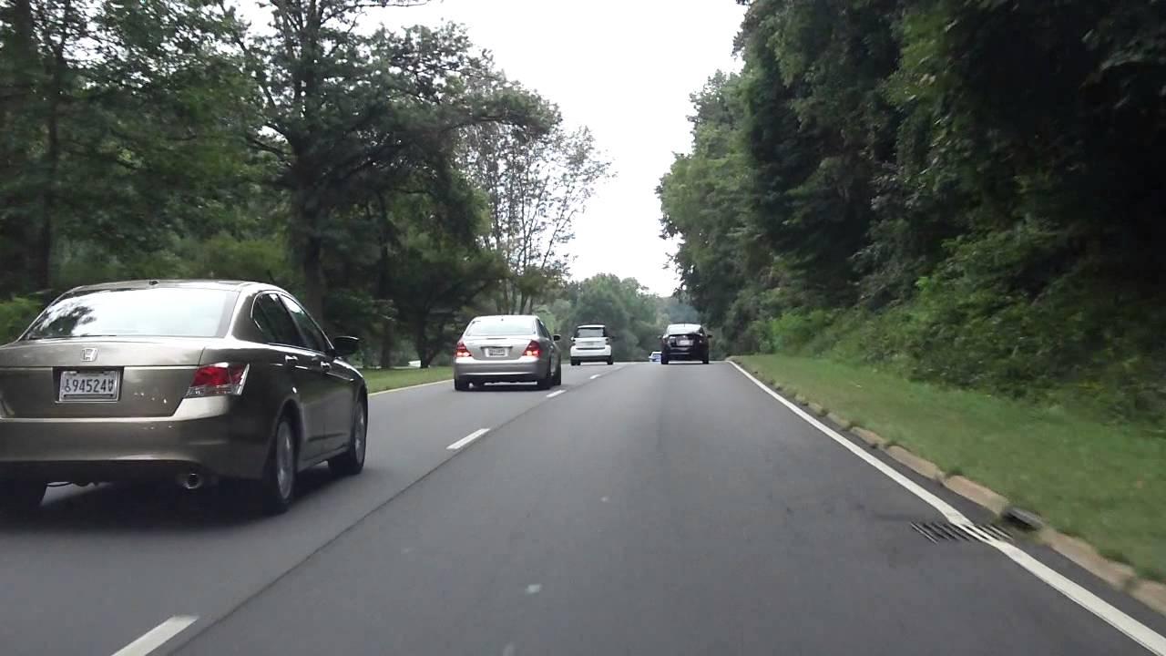 George Washington Memorial Parkway (I-495 to Spout Run) southbound
