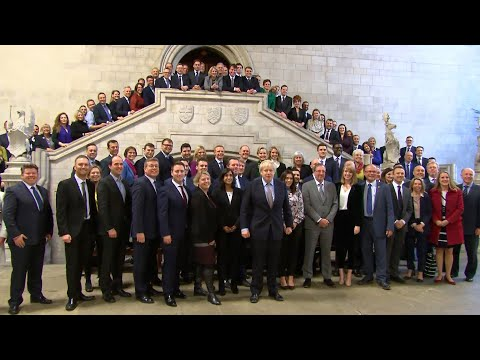 New Conservative MPs descend on Westminster