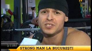 inregistrare GSP TV by Strongest Man In The City