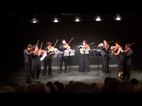Viola section of Israel Philharmonic Orchestra