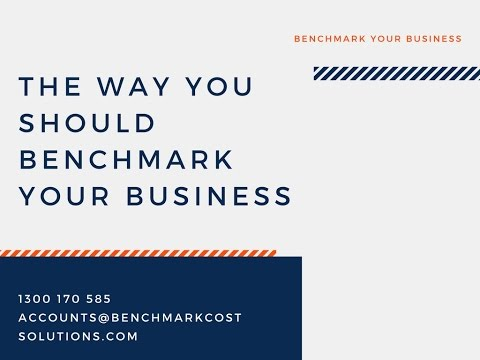 The Way You Should Benchmark Your Business