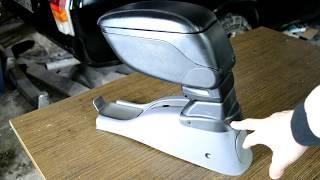 Hyundai Accent 2. Установка подлокотника