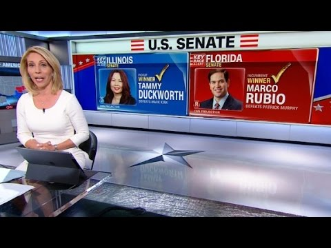Did Trump impact Rubio and Duckworth wins?