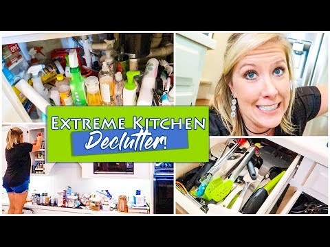 EXTREME KITCHEN DECLUTTER | BEFORE & AFTER