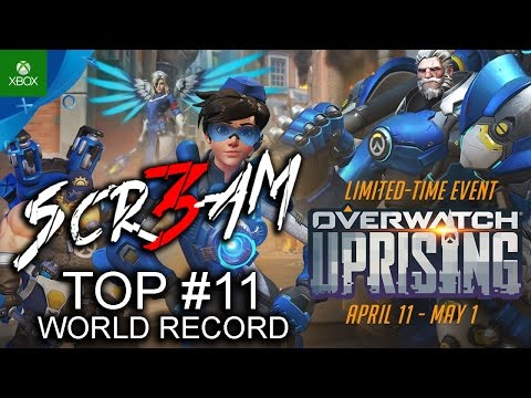 TOP #11 new World RECORD Overwatch !!- RIVOLTA LEGGENDARIA (PVE) - XboxOne ITA by 🆂🅲🆁3🅰🅼 🎮 XboxOne 🎮