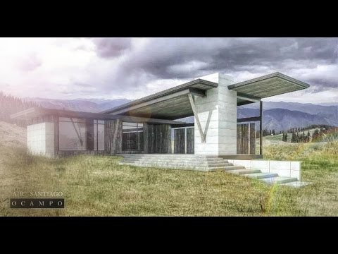 Architectural post production using photoshop youtube for Architecture poste a poste