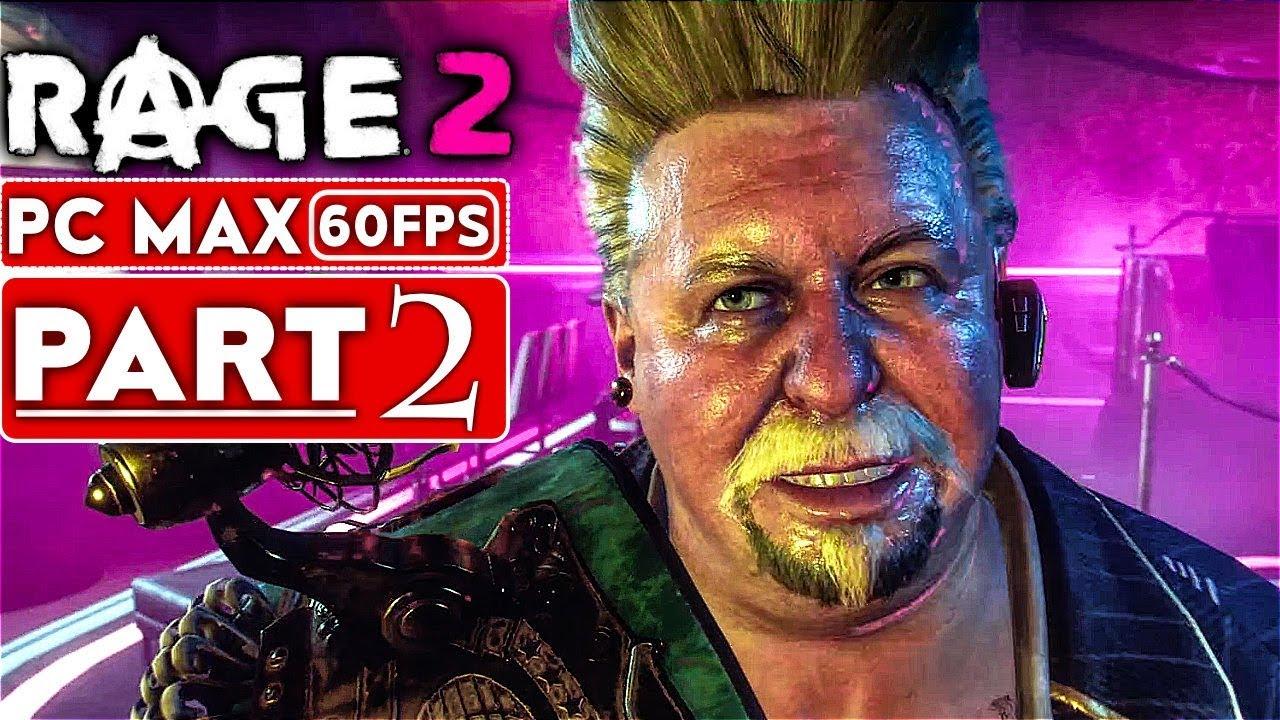 RAGE 2 Gameplay Komplettlösung Teil 2 [1080p HD 60FPS PC MAX EINSTELLUNGEN] - Kein Kommentar + video