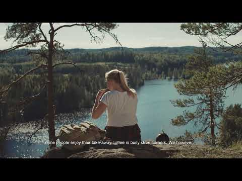 Pure nature in Lake Saimaa Finland