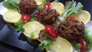 ONION BHAJIS (Restaurant Style) - Al