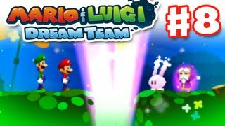 Mario & Luigi: Dream Team - Gameplay Walkthrough Part 8 - Eldream Rescue (Nintendo 3DS)
