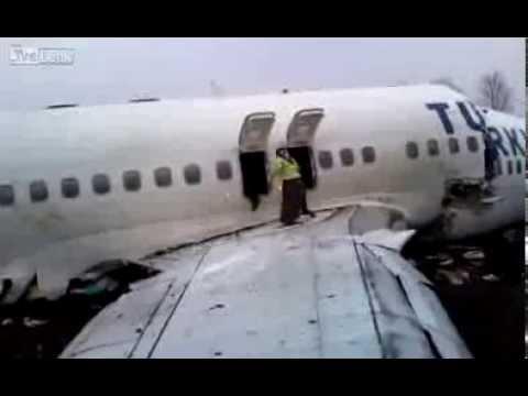 Türk uçağının düşüş anına ait HD video ortaya çıktı!