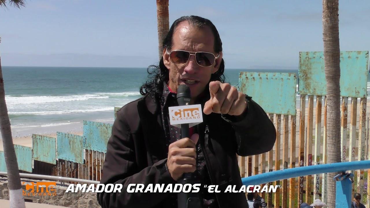 Amador Granados saluda a los fans de Cine Mexicano
