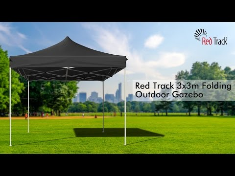 Red 3x3m Outdoor Gazebo Folding Marquee