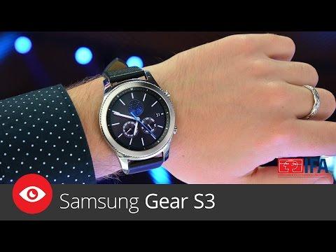 Samsung Gear S3 (IFA 2016)