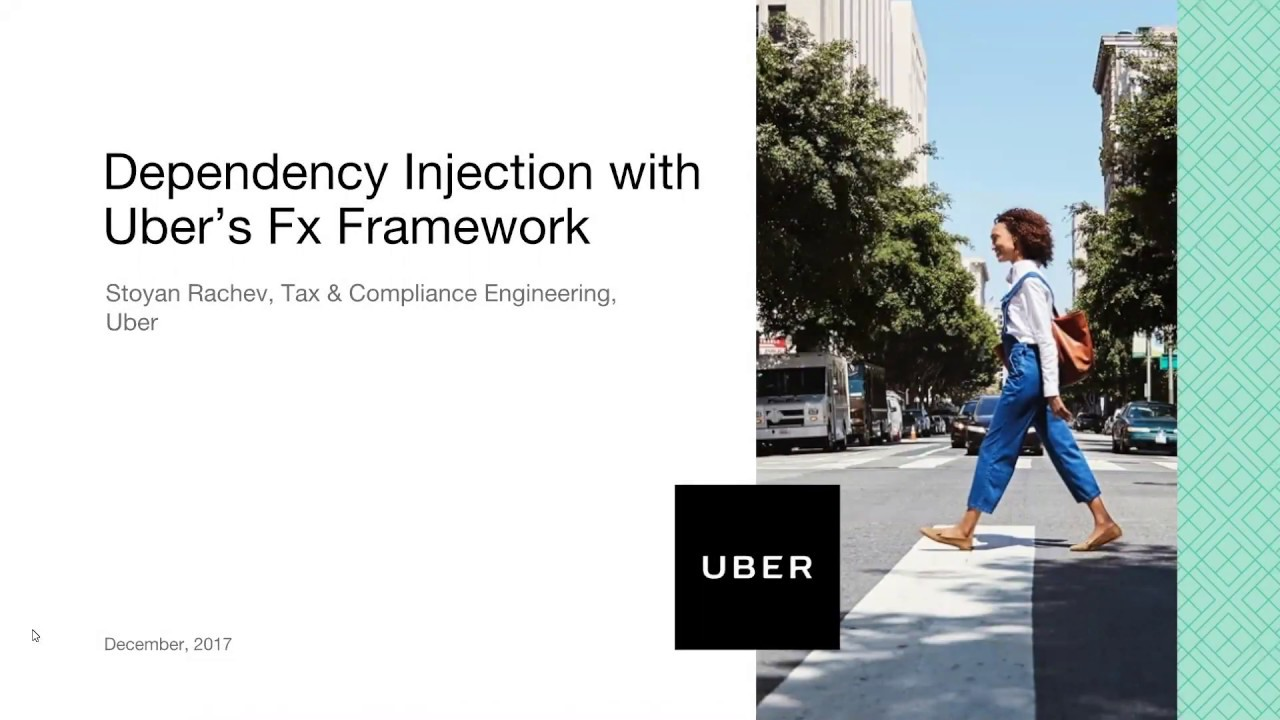 Uber Sofia Engineering: Dependency Injection with Uber's Fx Framework