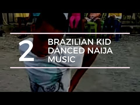 Brazilian kid dance Naija music in style!!!