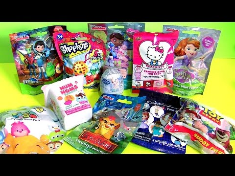 Blind Bags Collection Lion Guard Shopkins Sofia Miles Disney Tsum Tsum Hello Kitty Num Noms