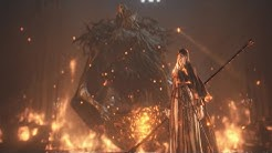 Dark Souls 3 Ashes of Ariandel: Sister Friede and Father Ariandel Boss Fight (4K 60fps)